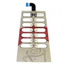 Мембранная клавиатура на Saeco 400 красную (арт. 11001850)